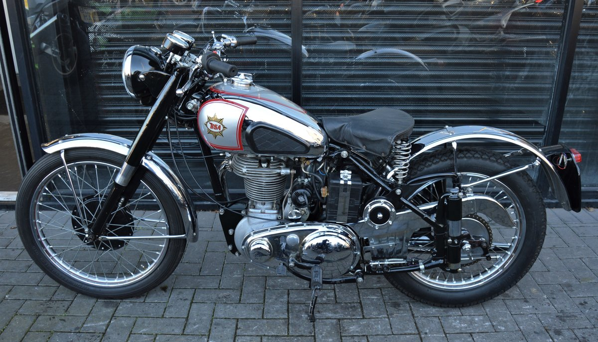 1951 BSA ZB32 GOLD STAR 350cc * CORRECT NUMBERS * RESTORED For Sale (picture 4 of 6)