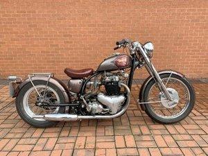 1960 BSA A10 Custom