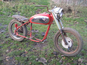 1953 BSA Project A10 matching no´s For Sale