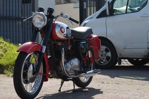 1956 BSA A10 650 Super Rocket