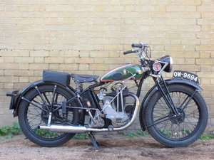 1936 BSA B2 250cc For Sale