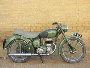 1954 BSA C10L 250cc SOLD