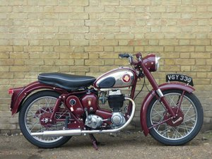 1956 BSA C12 250cc SOLD