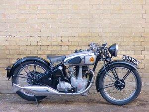 1939 BSA B24 Silver Star 350cc SOLD