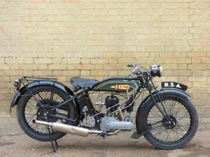 1928 BSA S28 500cc For Sale