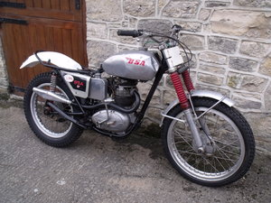 1960 BSA B40 350cc unit single Pre 65 trials bike Leeds