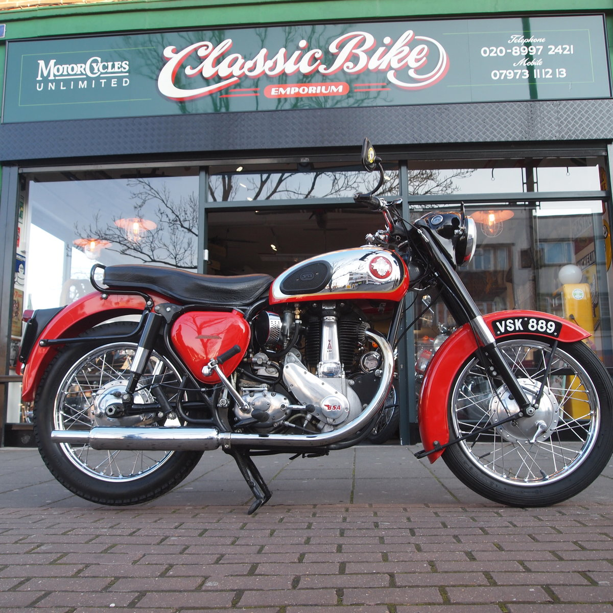 1956 BSA B33 500cc 'In Lovely Condition' For Sale (picture 1 of 6)