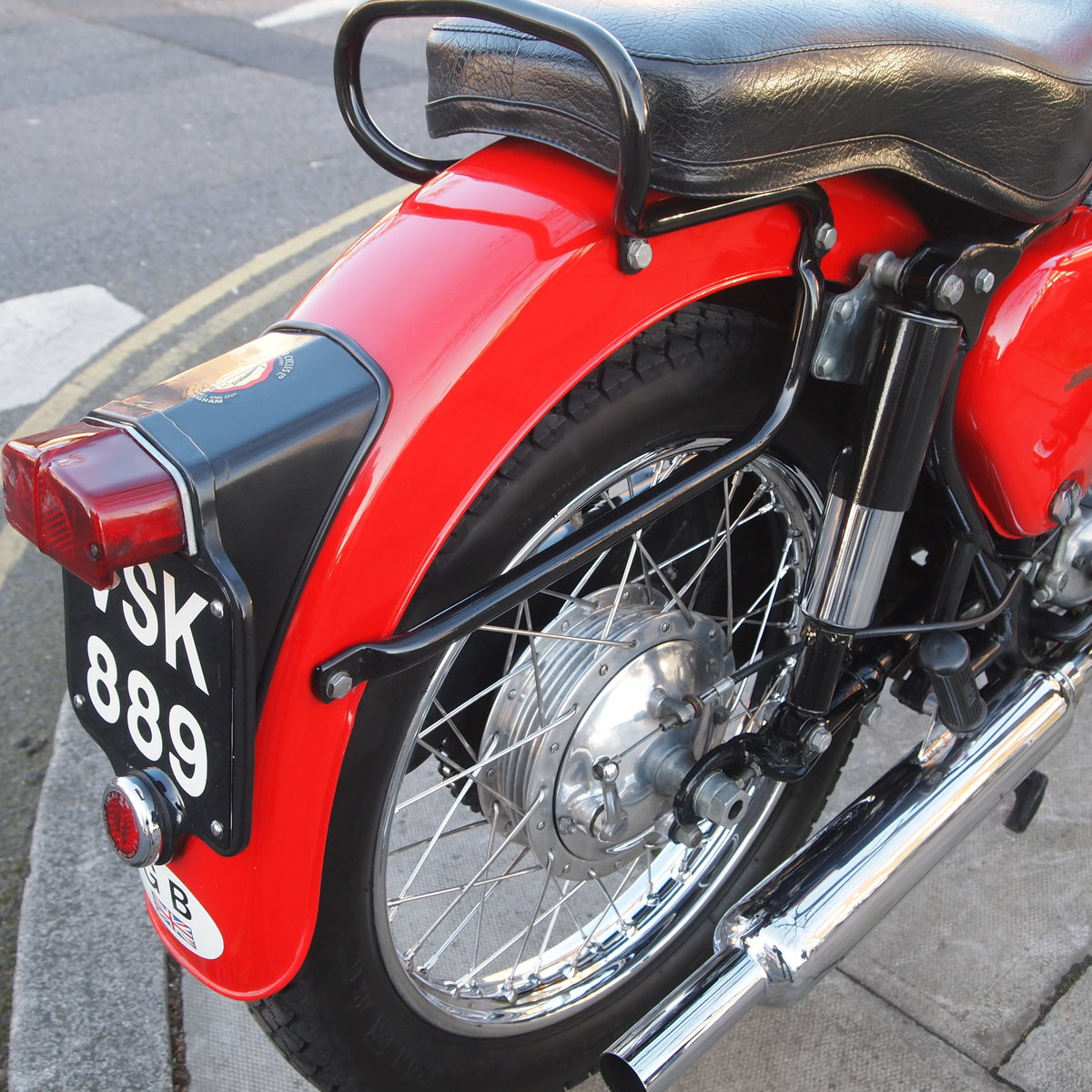 1956 BSA B33 500cc 'In Lovely Condition' For Sale (picture 3 of 6)