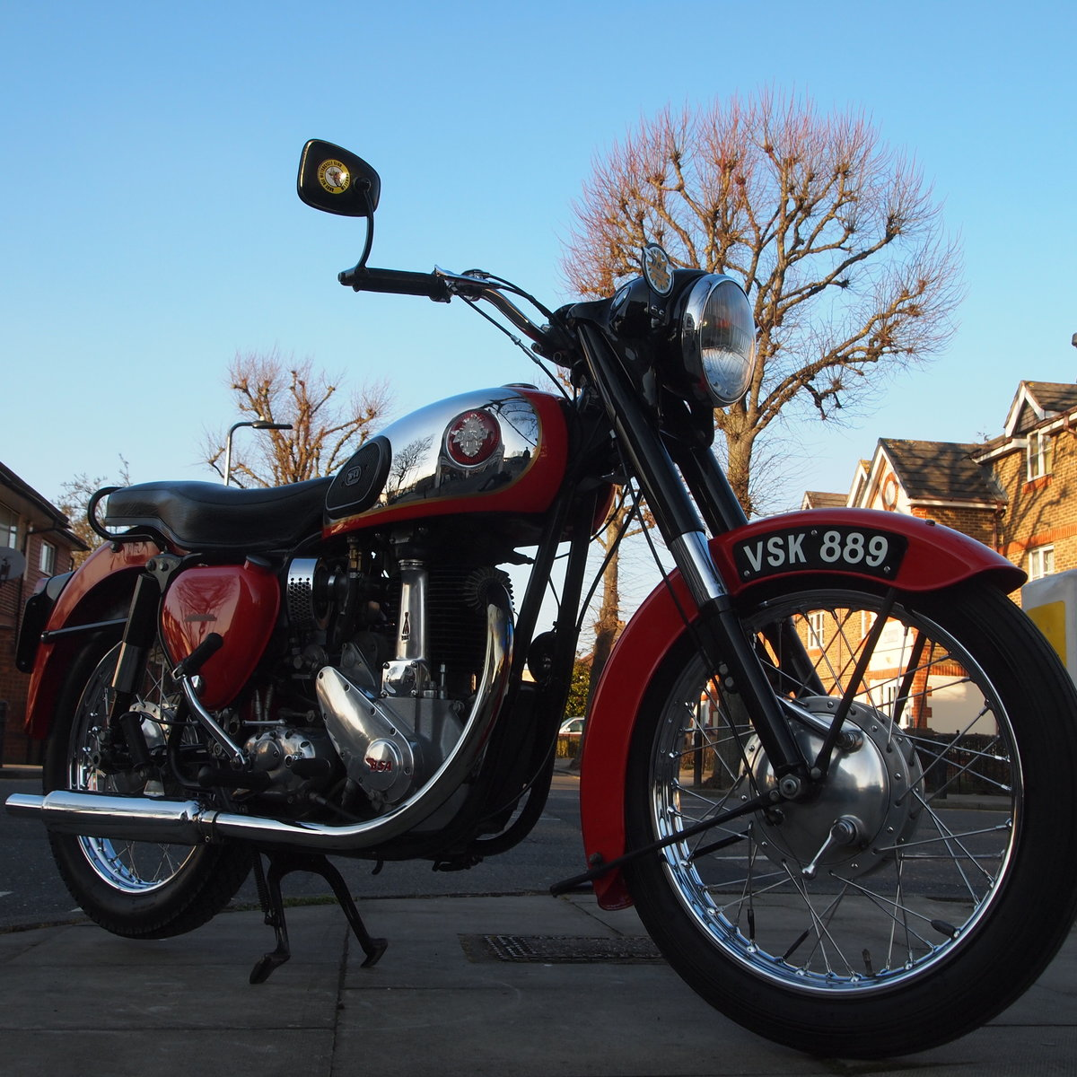 1956 BSA B33 500cc 'In Lovely Condition' For Sale (picture 6 of 6)
