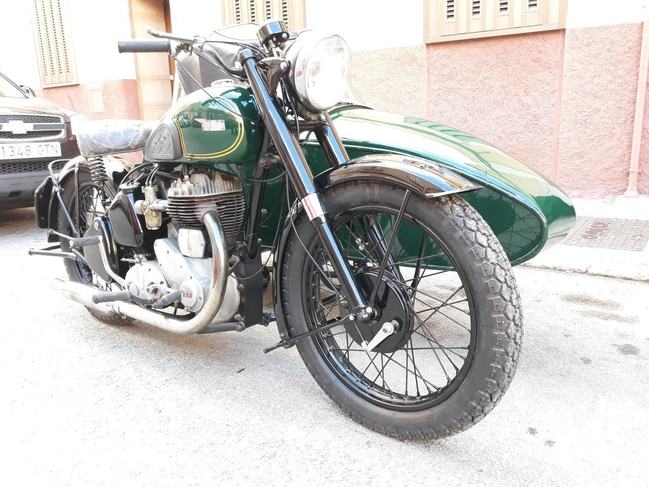 1954 BSA M21  600cc  year  with  sidecar - v.g.c. For Sale (picture 2 of 6)