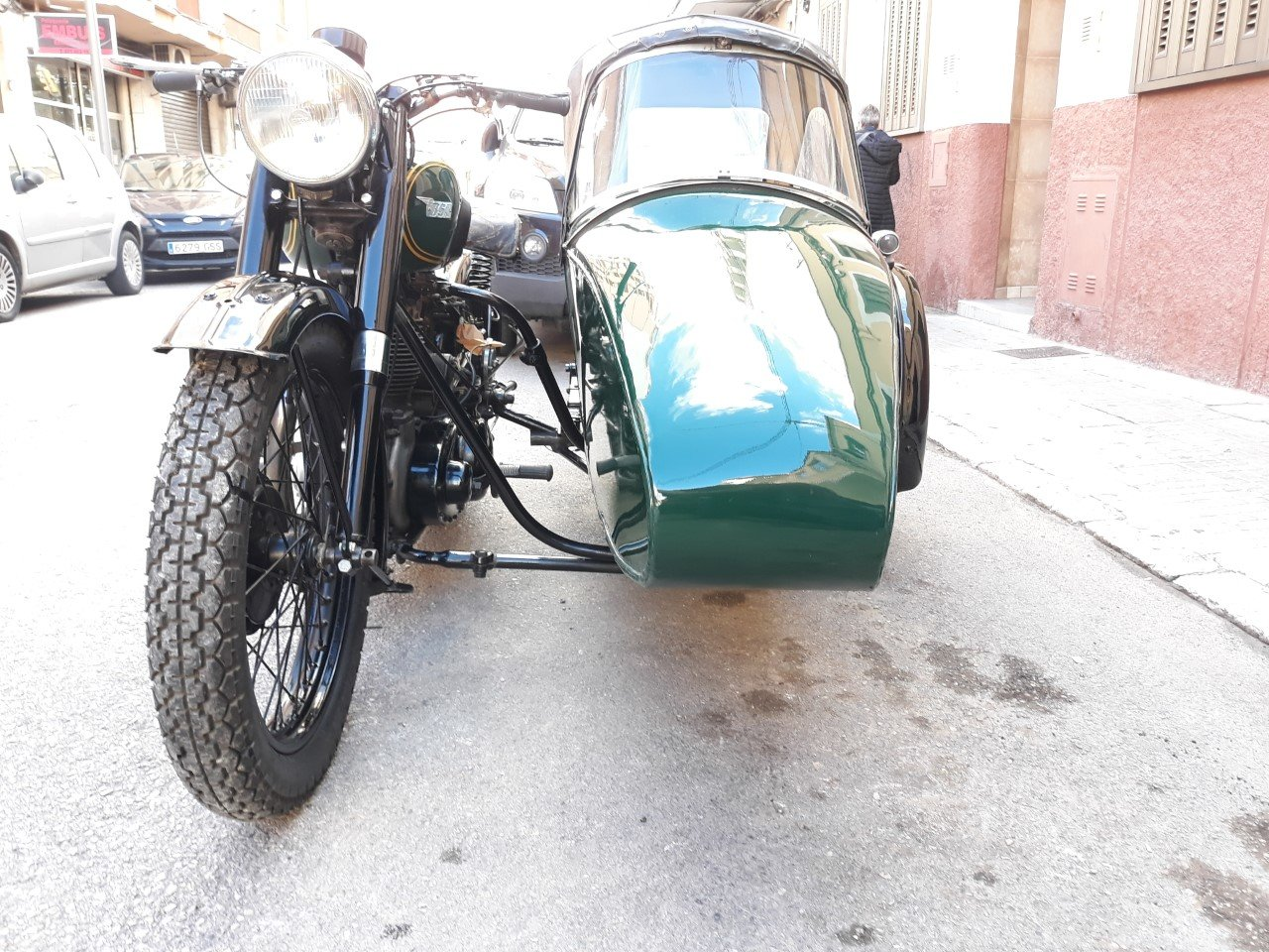 1954 BSA M21  600cc  year  with  sidecar - v.g.c. For Sale (picture 3 of 6)