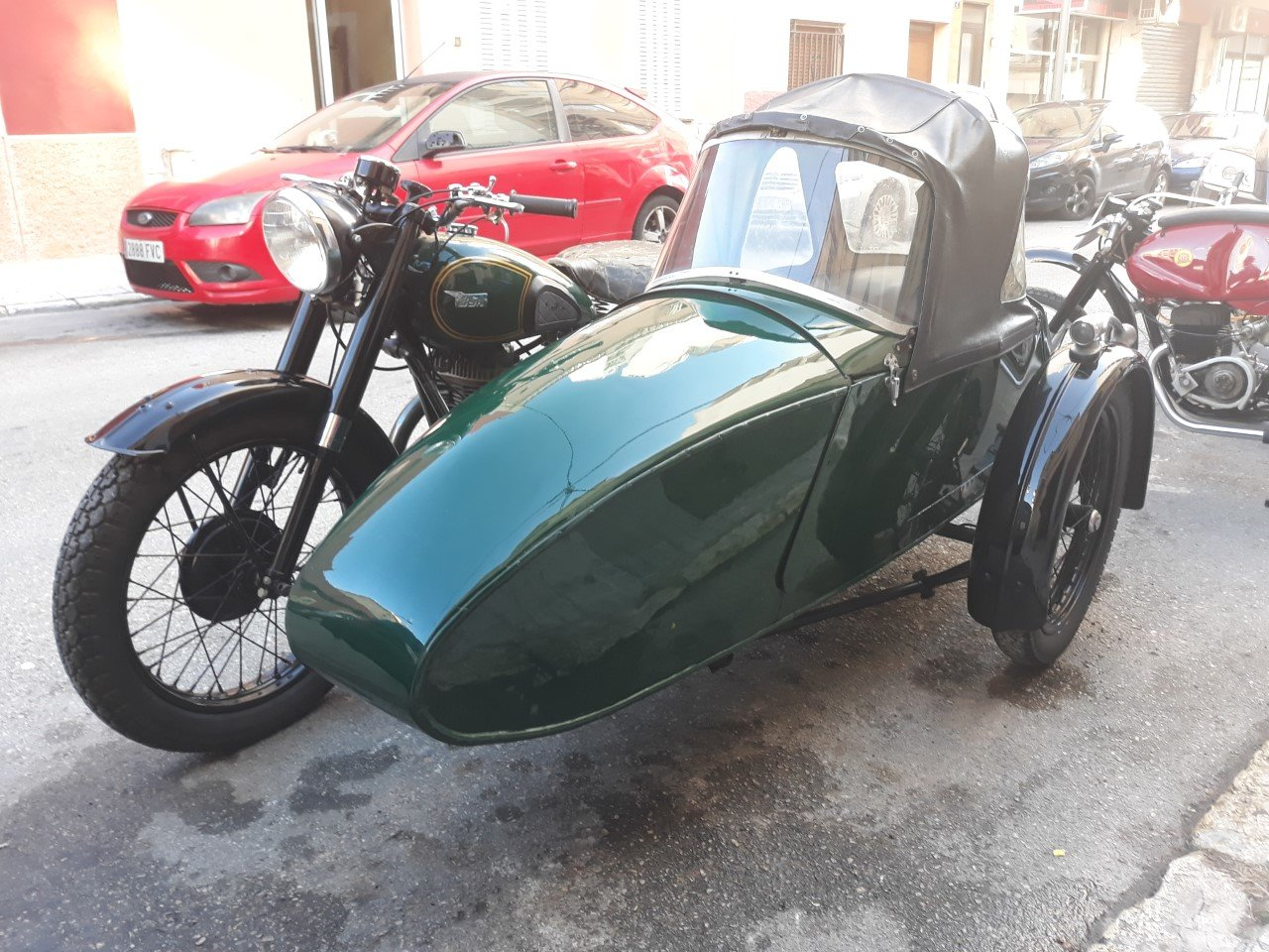 1954 BSA M21  600cc  year  with  sidecar - v.g.c. For Sale (picture 4 of 6)