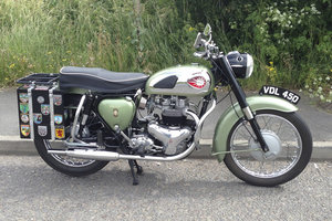 1960 BSA A7 Shooting Star
