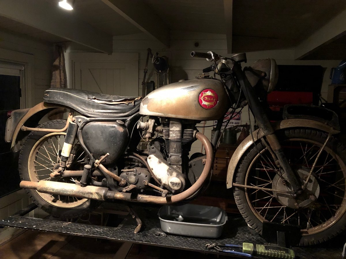 1954 BSA Gold Star 350cc 'featured in the ITV motorbike show' For Sale (picture 6 of 6)