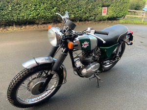 1969 BSA B25 SOLD by Auction