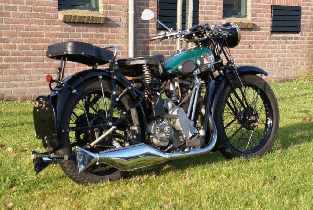 BSA Sloper 500cc 1931 with danisch registration papers  For Sale (picture 2 of 3)