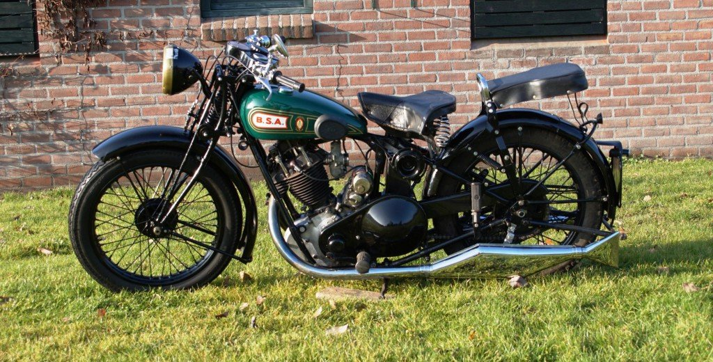 BSA Sloper 500cc 1931 with danisch registration papers  For Sale (picture 3 of 3)
