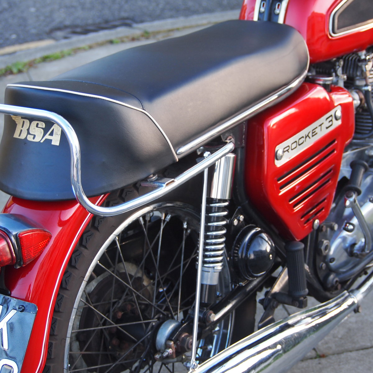 1969 BSA Rocket 3 with Electric Start, Early 1968 Model. For Sale (picture 2 of 6)