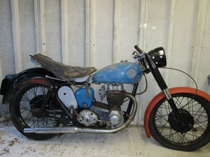 BSA C12 Project bike with V5C