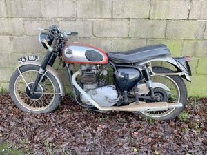 1959 BSA A10 Super Rocket