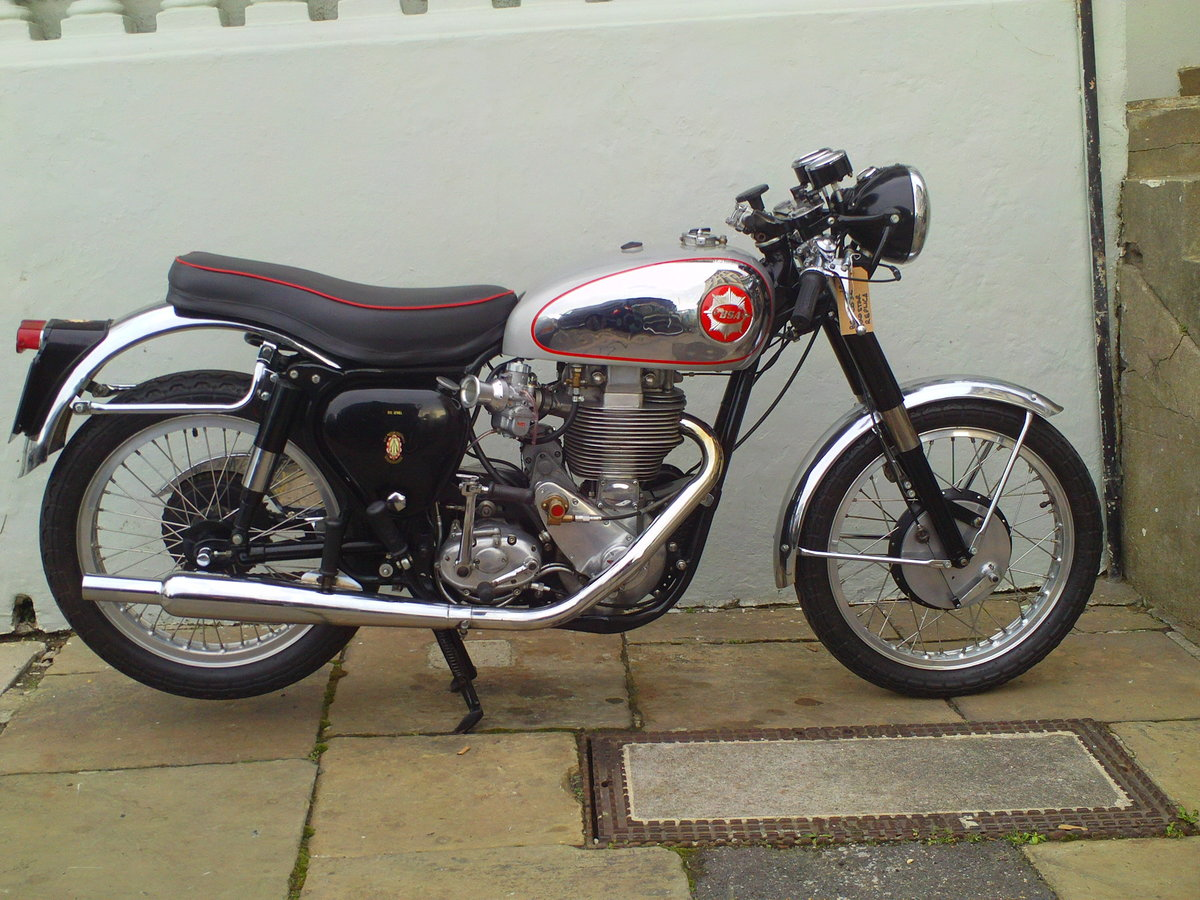 1955 BSA DBD34 CLUBMAN GOLDSTAR REPLICA SOLD (picture 1 of 6)