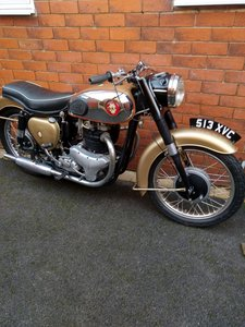 1961 BSA gold flash older rebuild