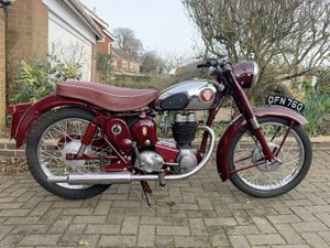 1958 BSA C12 For Sale by Auction