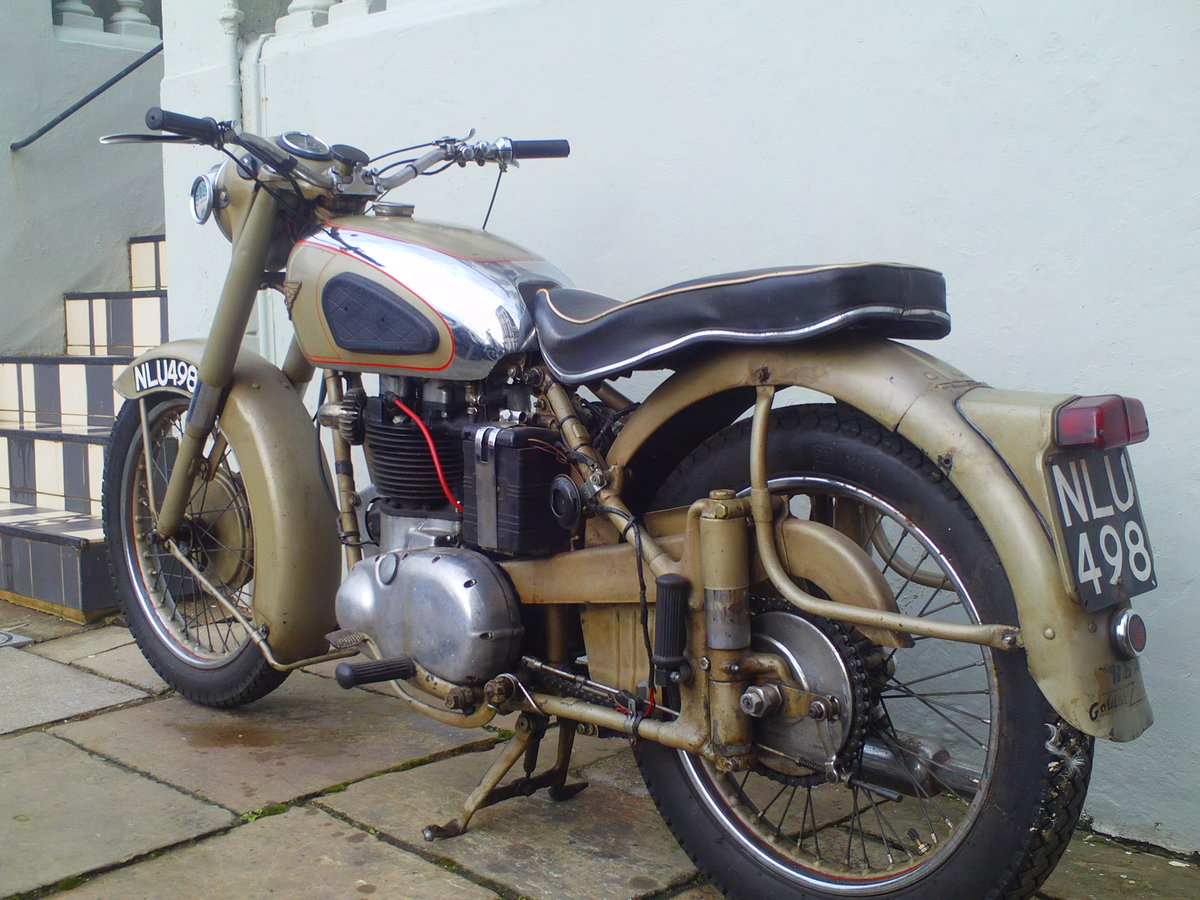 1953 BSA A10 GOLDEN  SOLD (picture 4 of 6)