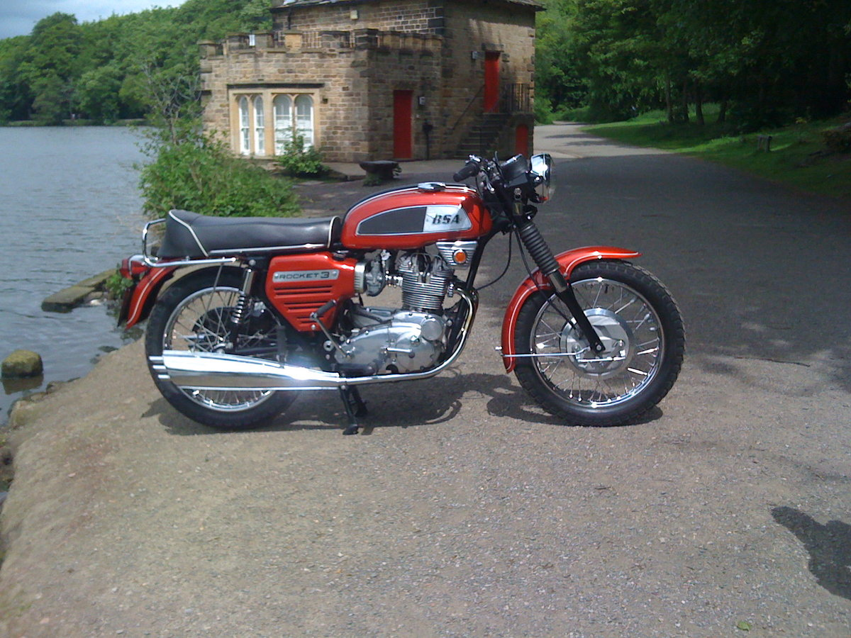 1969 BSA Rocket 3 Private Sale - REDUCED PRICE For Sale (picture 1 of 6)