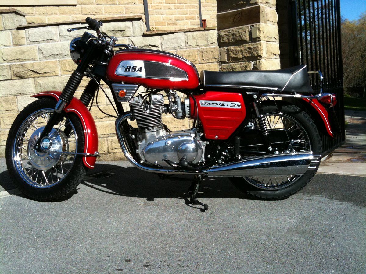 1969 BSA Rocket 3 Private Sale - REDUCED PRICE For Sale (picture 3 of 6)