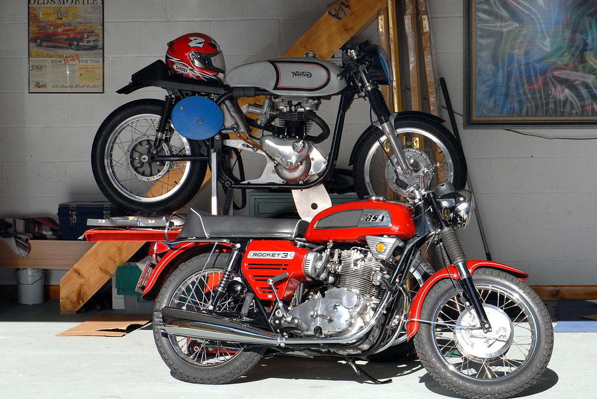 1969 BSA Rocket 3 Private Sale - REDUCED PRICE For Sale (picture 4 of 6)