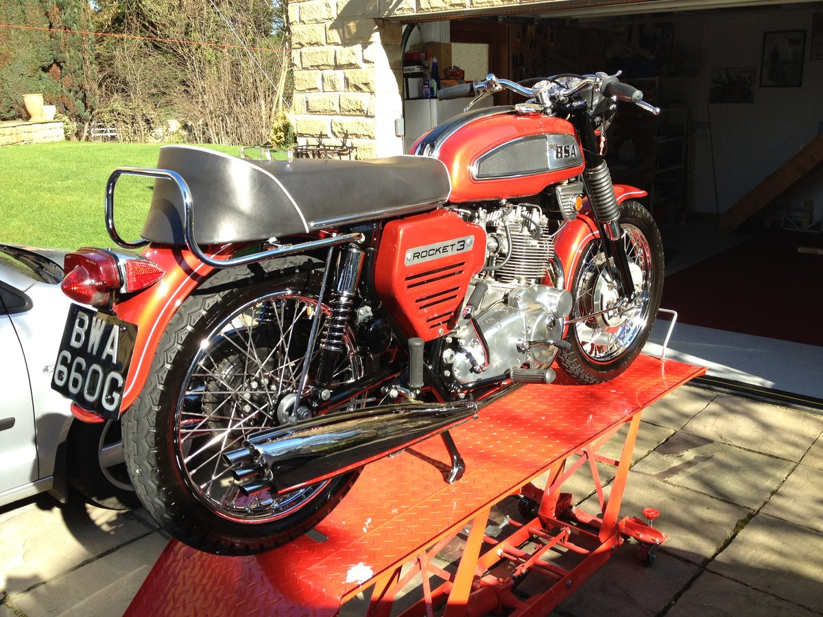 1969 BSA Rocket 3 Private Sale - REDUCED PRICE For Sale (picture 6 of 6)