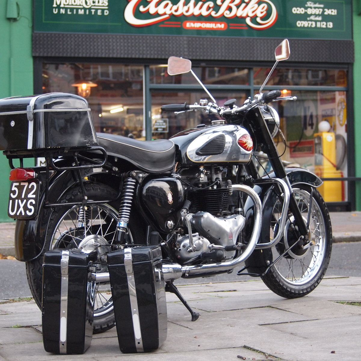 1960 BSA A10 650 With Correct Number, Lovely Condition. SOLD (picture 1 of 6)