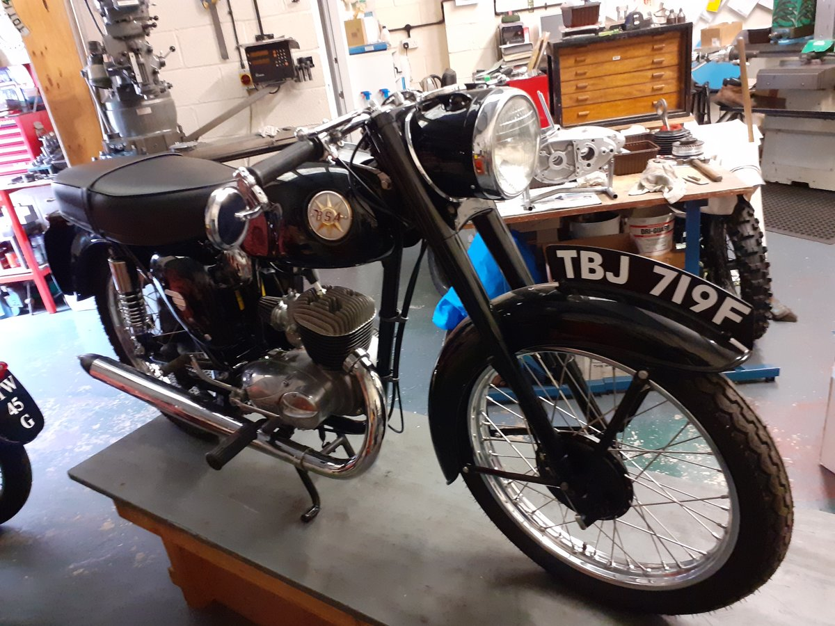 1968 BSA Bantam d14/4     *** NOW SOLD*** For Sale (picture 3 of 6)