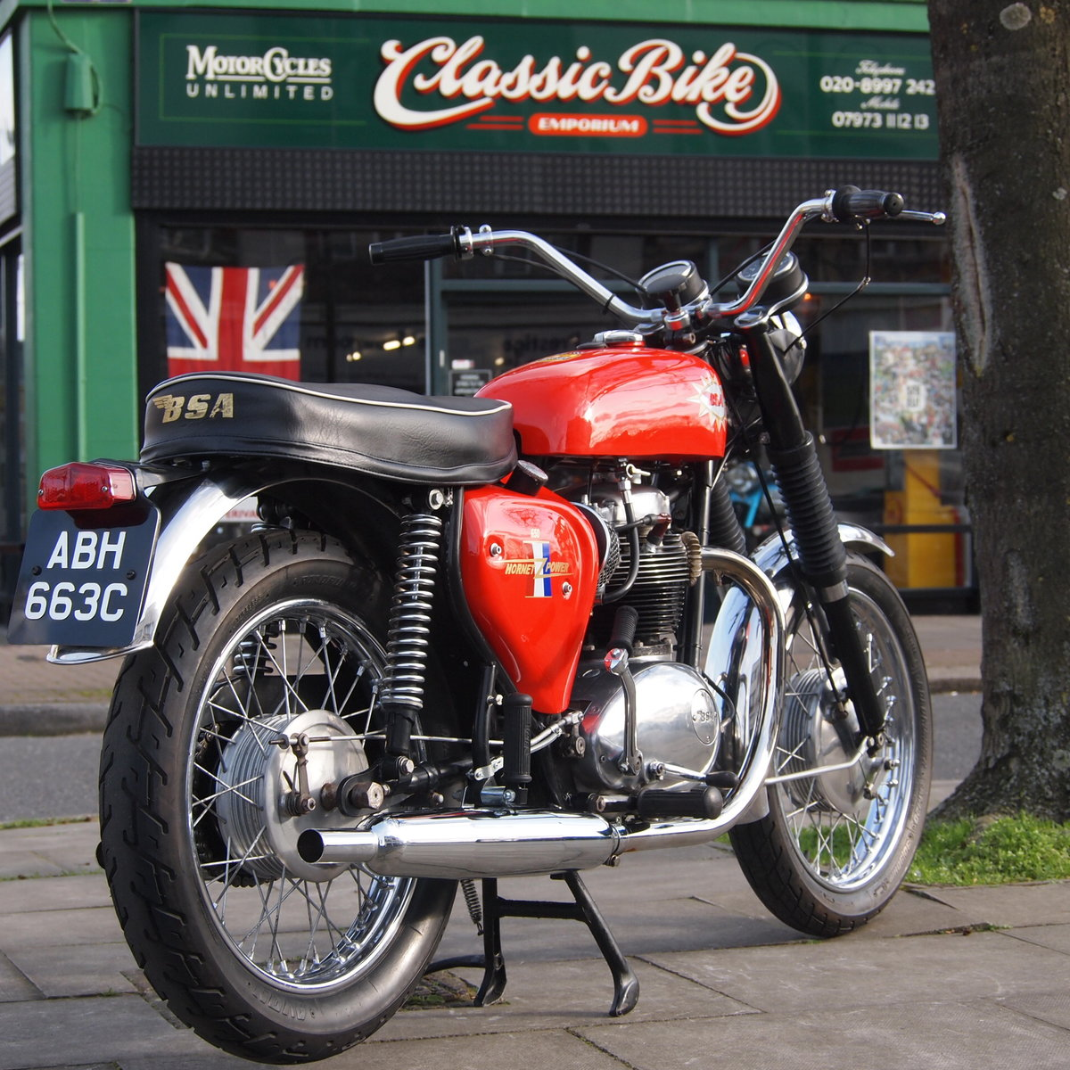 1965 BSA A65 650 Hornet Replica, RESERVED FOR PAUL. SOLD (picture 1 of 6)