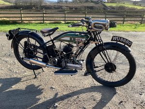 1926 BSA S27 Lovely Restored Flat Tank