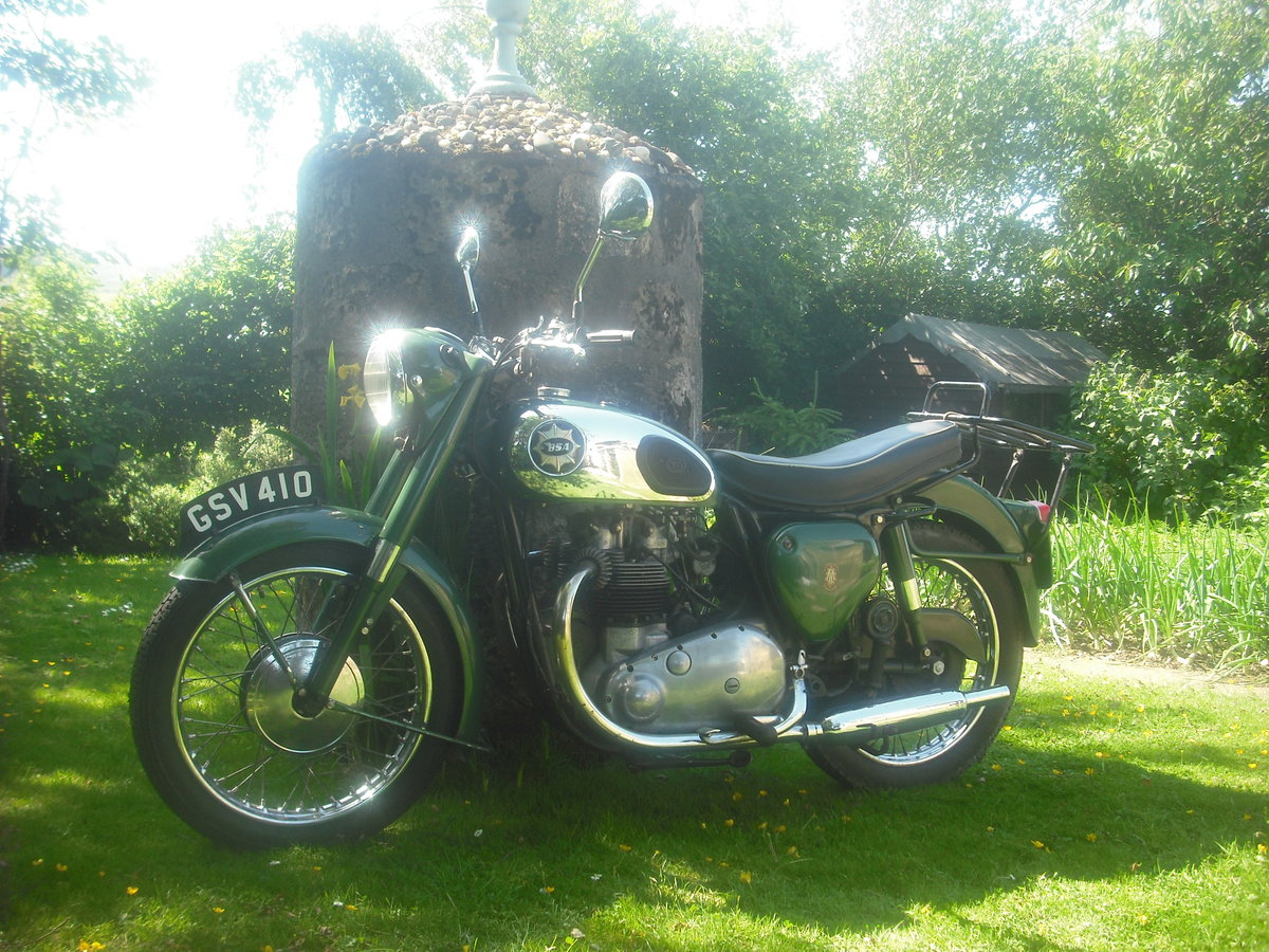 1958 BSA a7 shooting star For Sale (picture 1 of 1)
