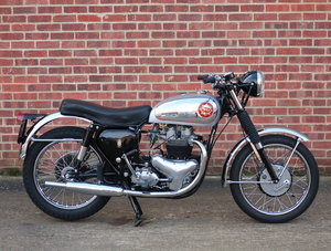 1956 BSA Rocket Gold Star Replica