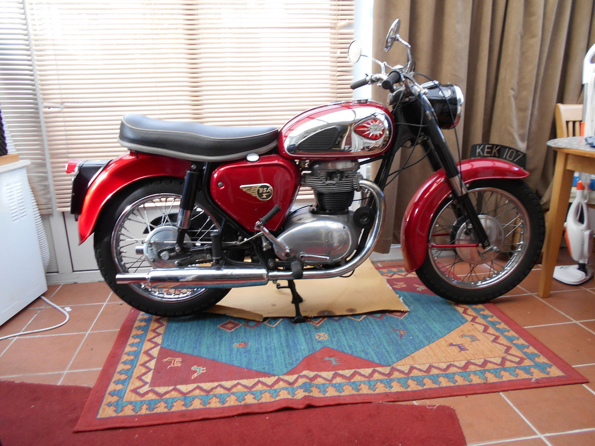 1962 BSA  A65  sold SOLD (picture 2 of 2)