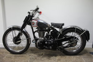 1950 950 BSA B34 Competition 500 cc Single , Rigid Frame