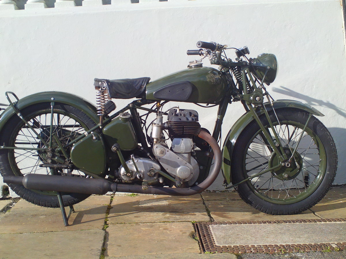 1944 BSA M20 WD SOLD (picture 1 of 6)