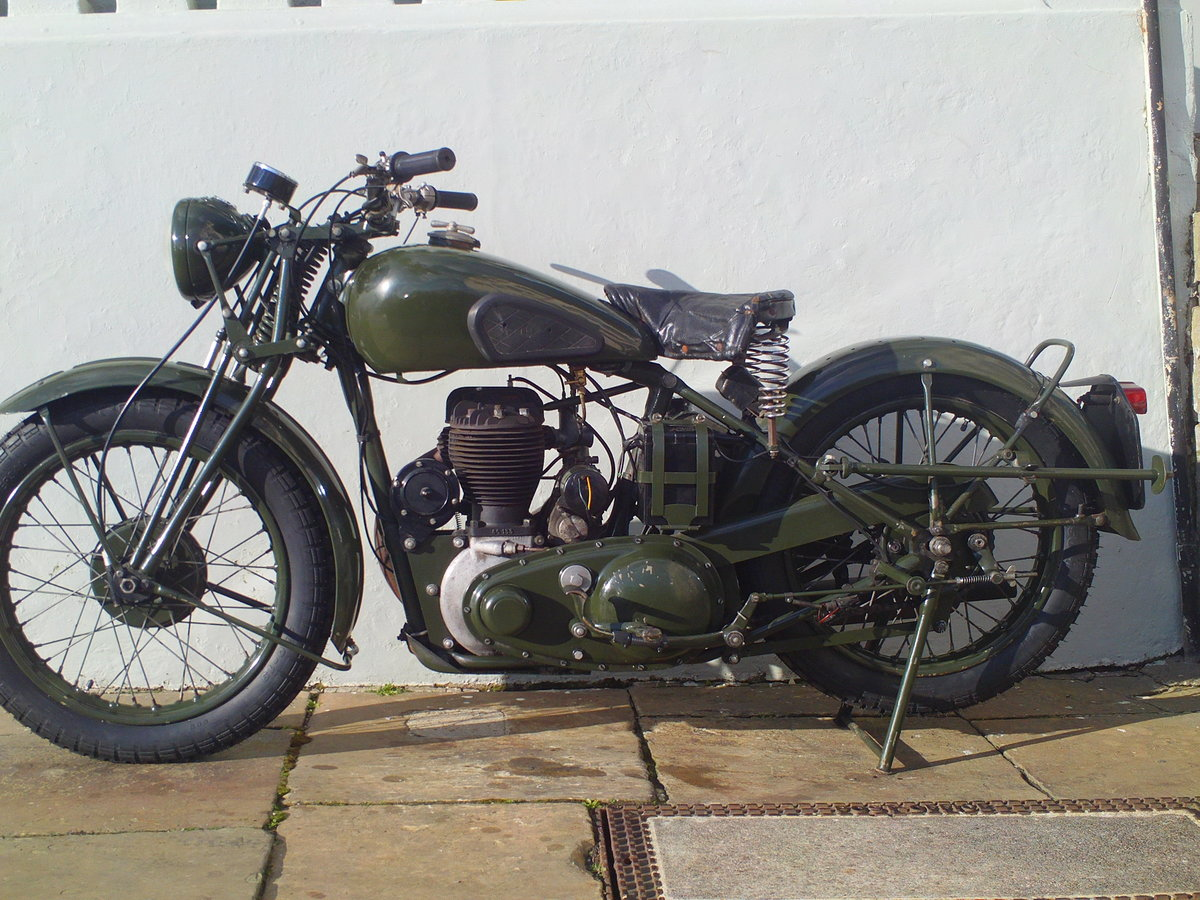 1944 BSA M20 WD SOLD (picture 3 of 6)