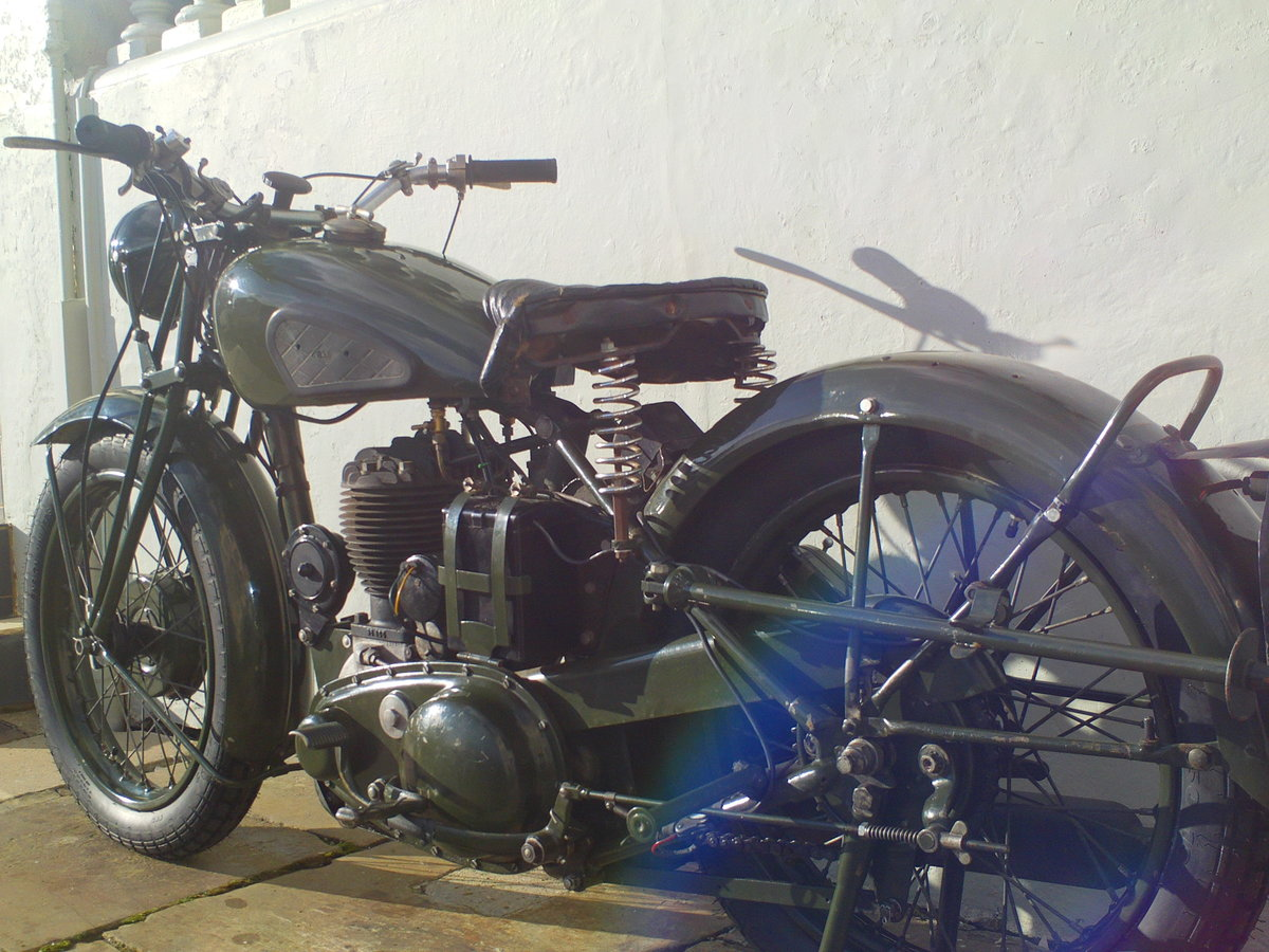 1944 BSA M20 WD SOLD (picture 4 of 6)