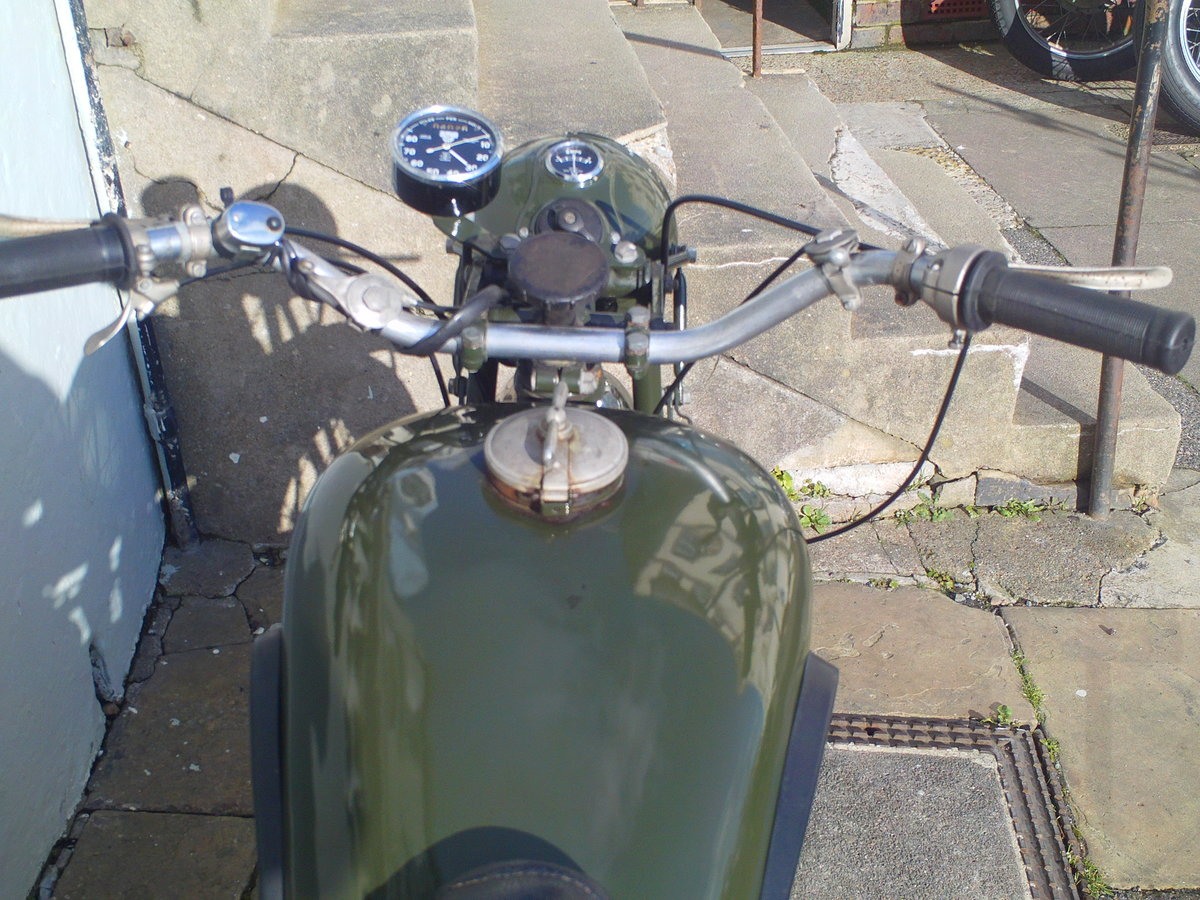 1944 BSA M20 WD SOLD (picture 5 of 6)