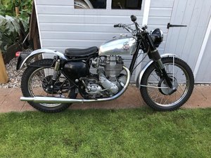 BSA Gold Star Scrambler 350 ISDT Model 1952-54