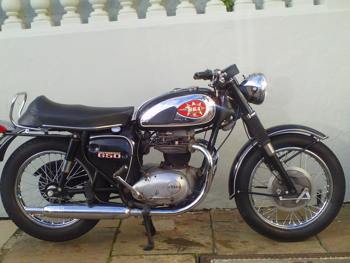 1970 BSA A65 THUNDERBOLT  SOLD (picture 1 of 6)