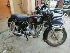 1956 BSA 350 Deluxe Authentic