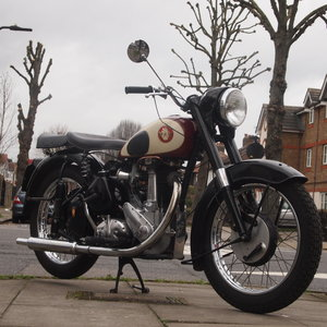 1957 BSA M33 499cc Plunger, RESERVED FOR PAUL. SOLD