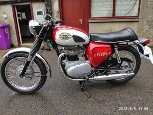 1970 BSA Royal Star for sale by auction