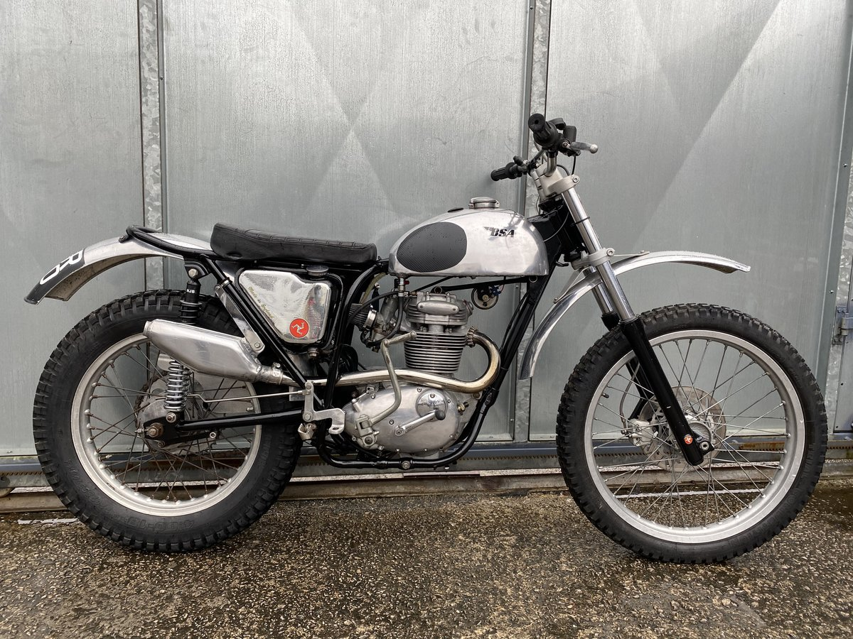 1969 BSA C15 TRAIL BIKE PRE 65 TRIALS ROAD REGD WITH V5 £4295  For Sale (picture 3 of 6)